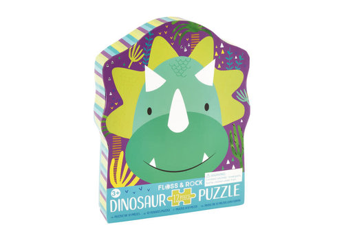 Floss & Rock Dinosaur Puzzle 12 pc (Floss & Rock) *