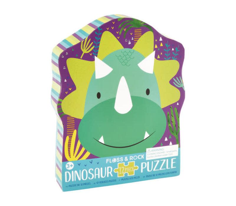 Dinosaur Puzzle 12 pc (Floss & Rock) *