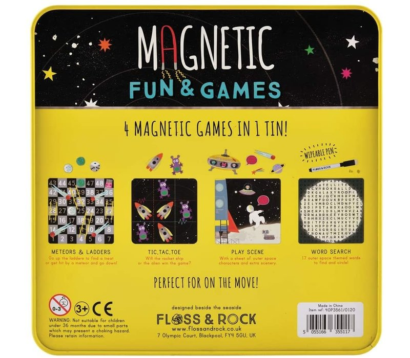 Magnetic Fun & Games Space *