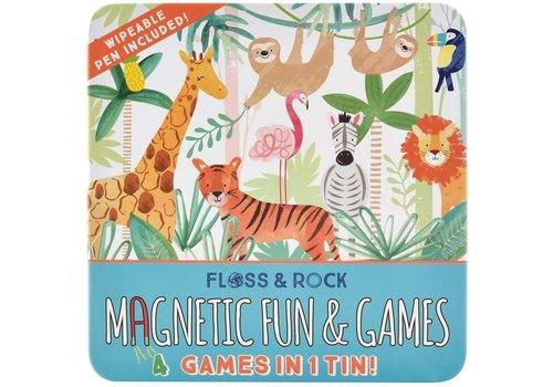 Floss & Rock Magnetic Fun & Games Jungle *