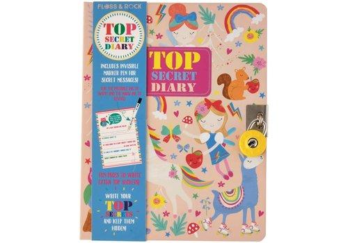 Floss & Rock Floss and Rock Rainbow Fairy Top Secret Lockable Diary