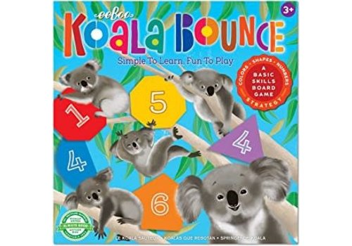 Eeboo Koala Bounce:  Simple to Learn,  Fun to Play *