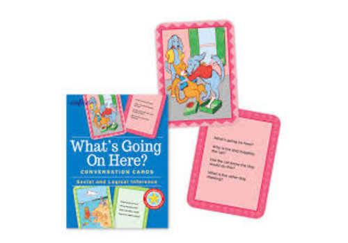 Eeboo What's Going On Here? Conversation Cards - Social & Logical Inference *