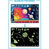 Eeboo Glow In The Dark Solar System Poster