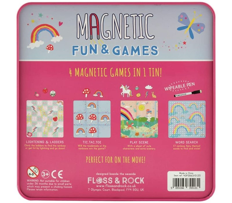 Magnetic Fun & Games Rainbow Fairy