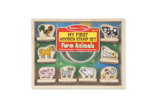 Melissa & Doug Farm Animals Stamp Set