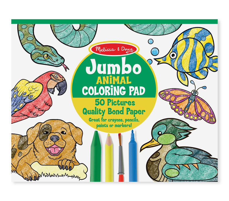 Animal Coloring Pad