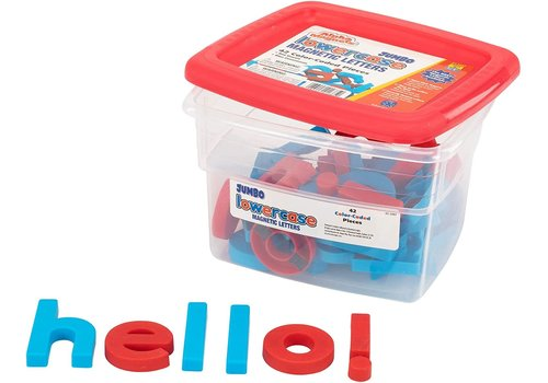 Educational Insights Jumbo Lowercase Magnetic Letters