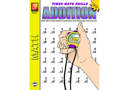 REMEDIA PUBLICATIONS Easy Timed Math Drills *