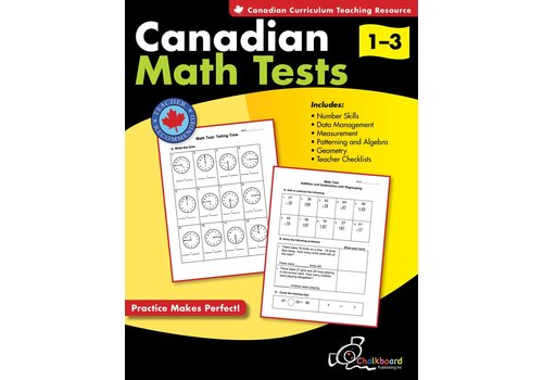 NELSON Canadian Math Tests 1-3 *