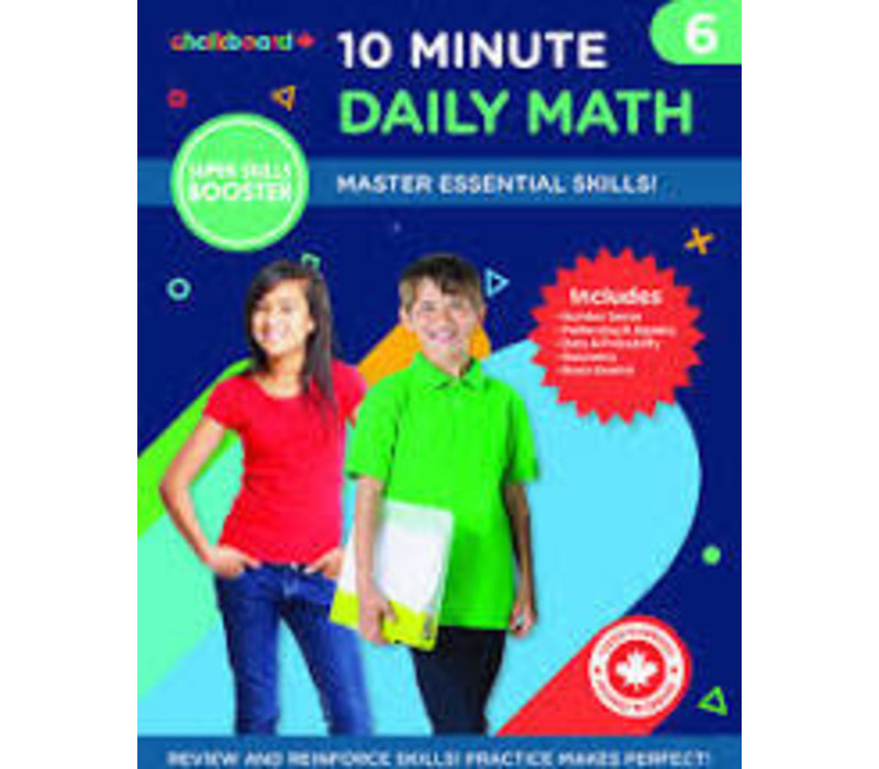Canadian 10 Minute Daily Math Grade 6 *