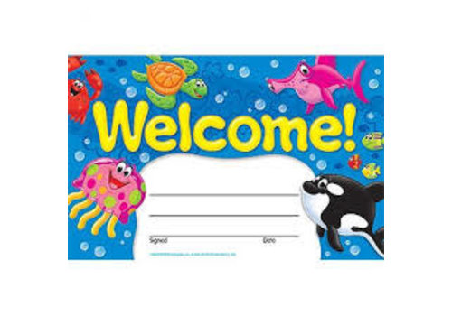 Trend Enterprises Welcome! Sea Buddies (D)