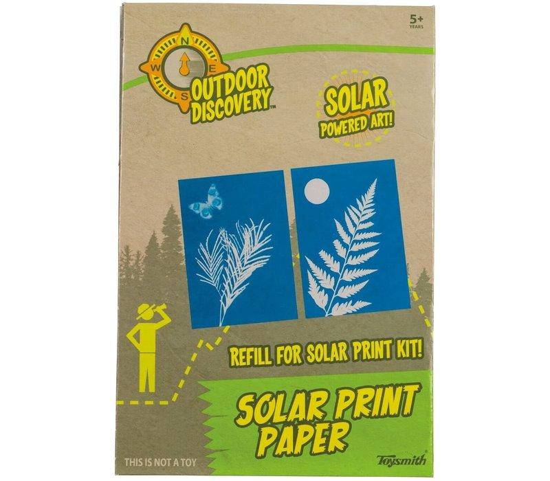 Solar Print Paper *