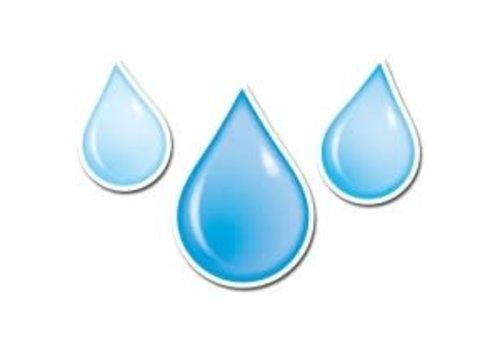 "Creative Teaching Press Water Drops 6"" Designer Cut-Outs * (D)"