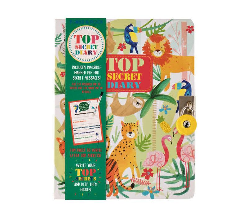 Floss and Rock Jungle Top Secret Lockable Diary *