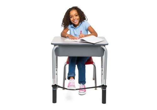 Bouncybands Bouncyband® Student Edition for School Desks - Black *