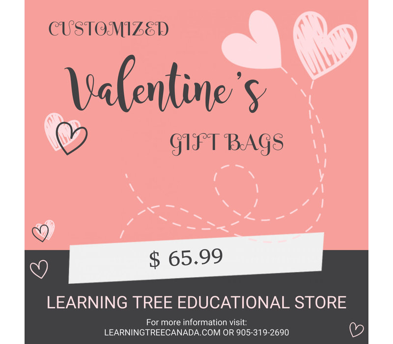 Customizable Valentine Gift Bag $65.99 *