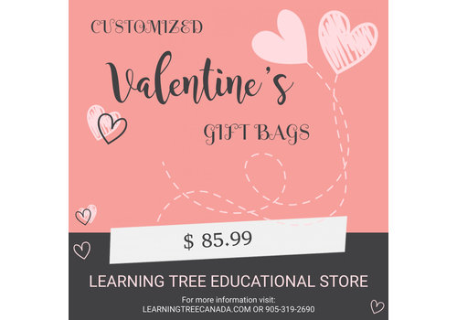 Customizable Valentine Gift Bag  $85.99 *