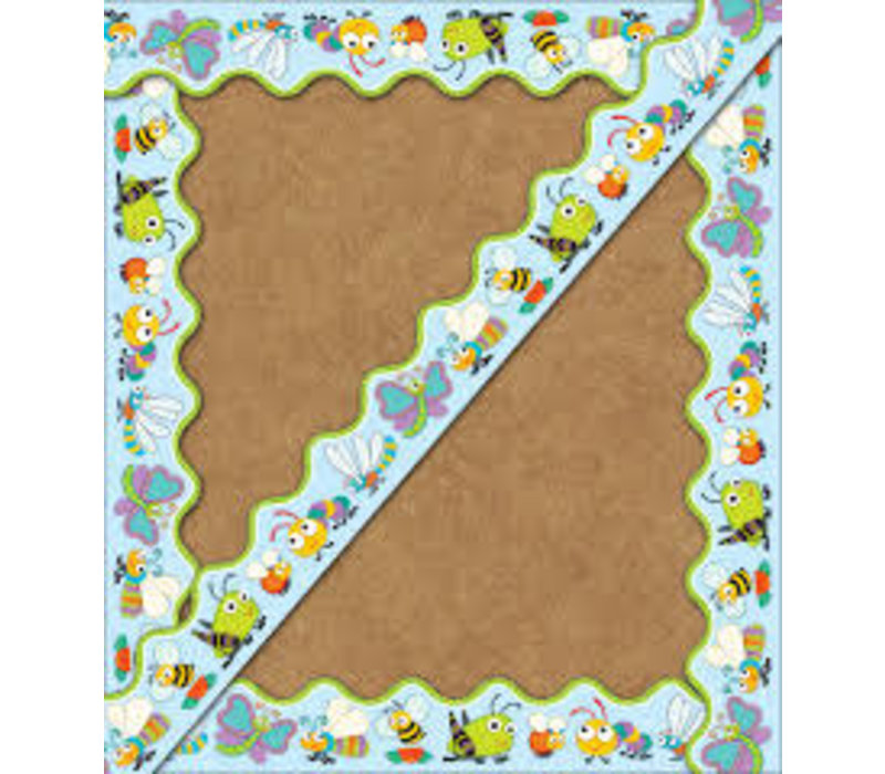 "Buggy"" for Bugs Scalloped Border *"