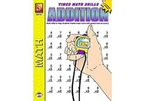 REMEDIA PUBLICATIONS Easy Timed Math Drills: Addition *