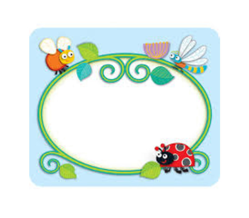 Buggy for Bugs NAME TAGS * (D)