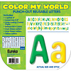 "EUREKA Color My World - Green/Lime/Yellow Letters 4"" *"