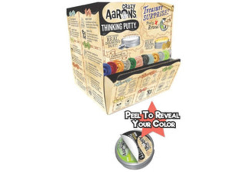 Crazy Aaron's Thinking Putty - Treasure Surprise! *