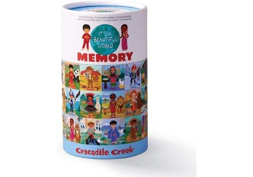 Crocodile Creek Beautiful World Memory Game *