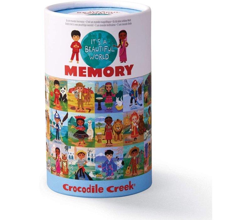 Beautiful World Memory Game *