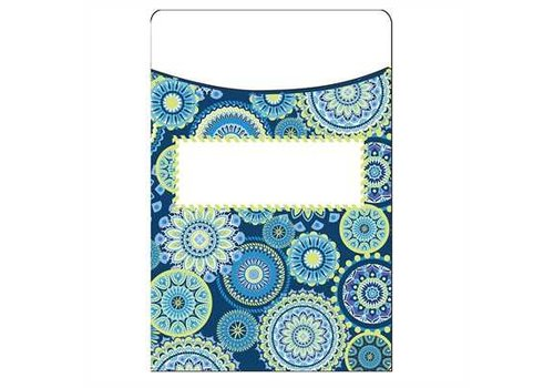 EUREKA Blue Harmony Library Pockets- Mandala (D) *