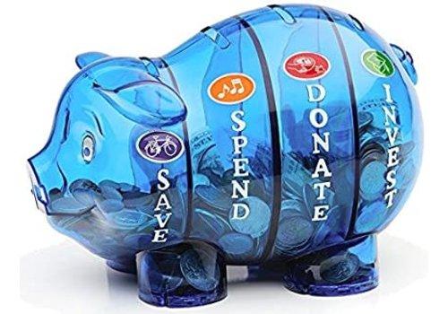 Money Saving Pig (Colour - Purple) *