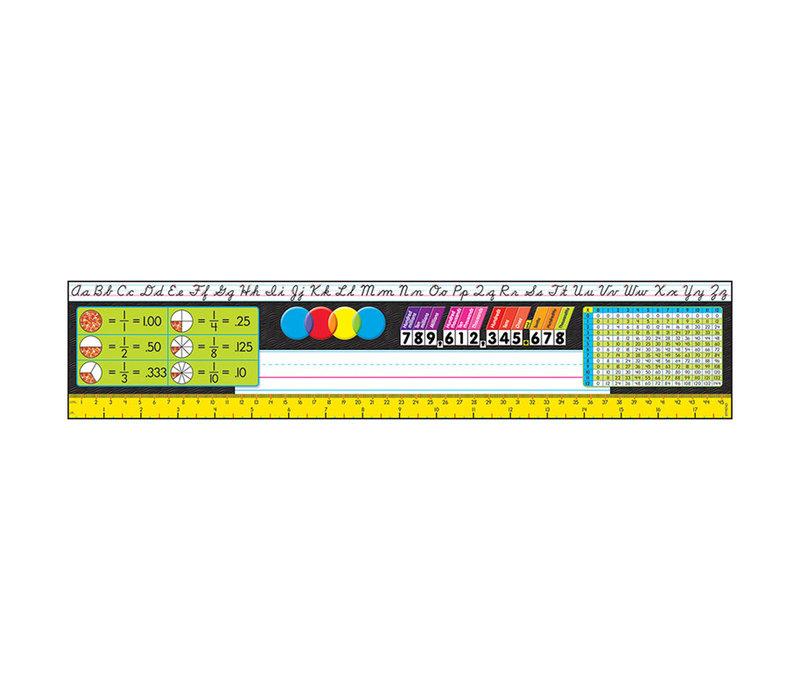Grades 3- 5 Reference Name Plate Cursive Modern *