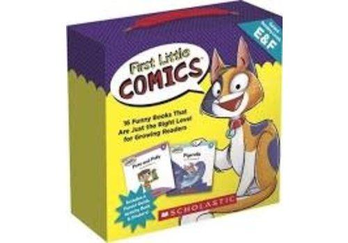 SCHOLASTIC CANADA First Little Comics, Level E&F *