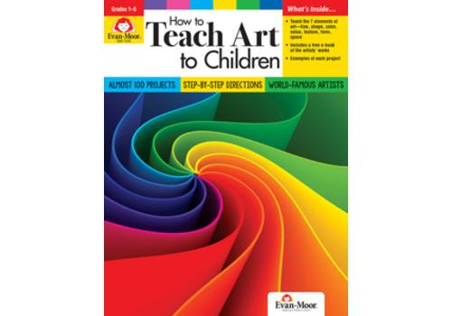 Evan Moor HOW TO TEACH ART TO CHILDREN *