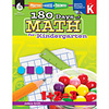 SHELL EDUCATION 180 Days Math, K
