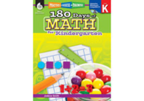 SHELL EDUCATION 180 Days Math, K
