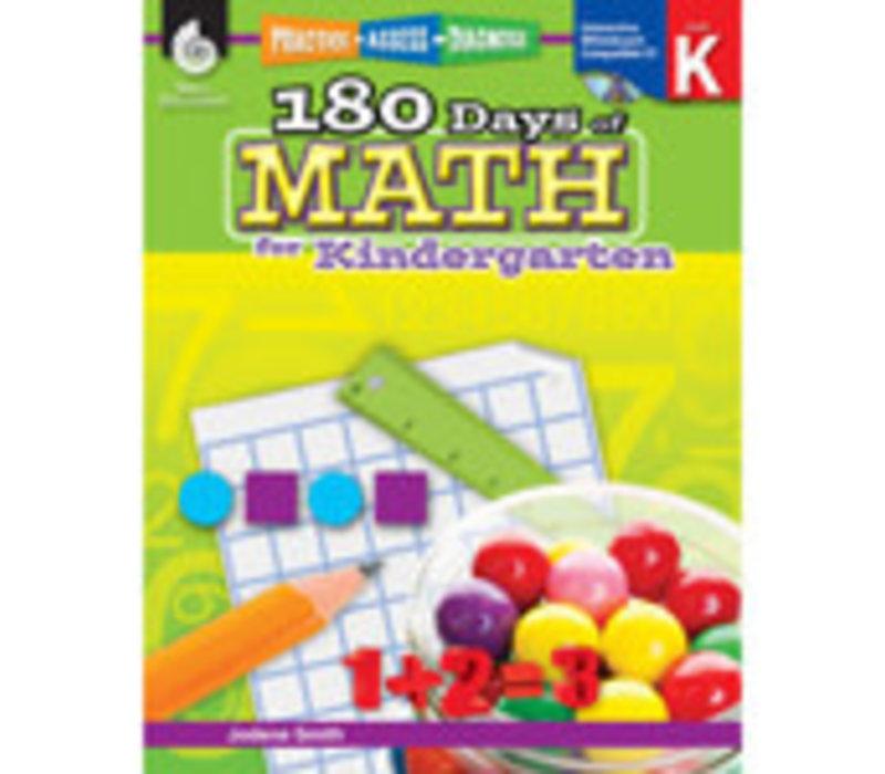 180 Days Math, K