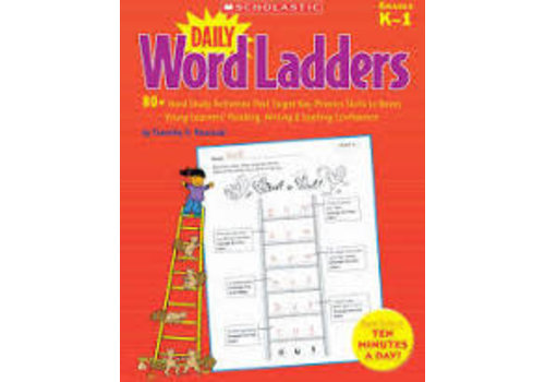 Scholatic USA DAILY WORD LADDERS GRADES K-1 *