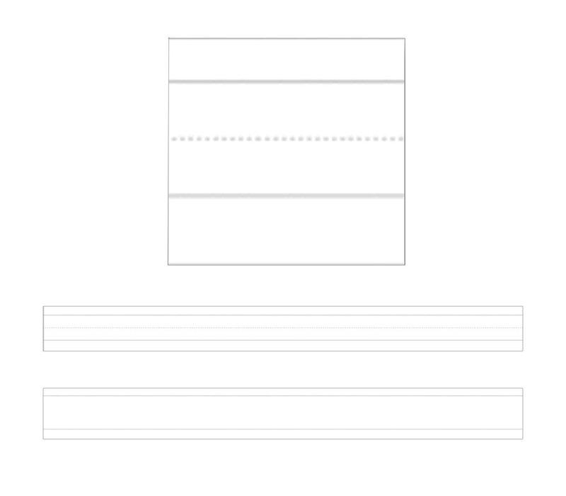 Sentence Strips, Lined White *