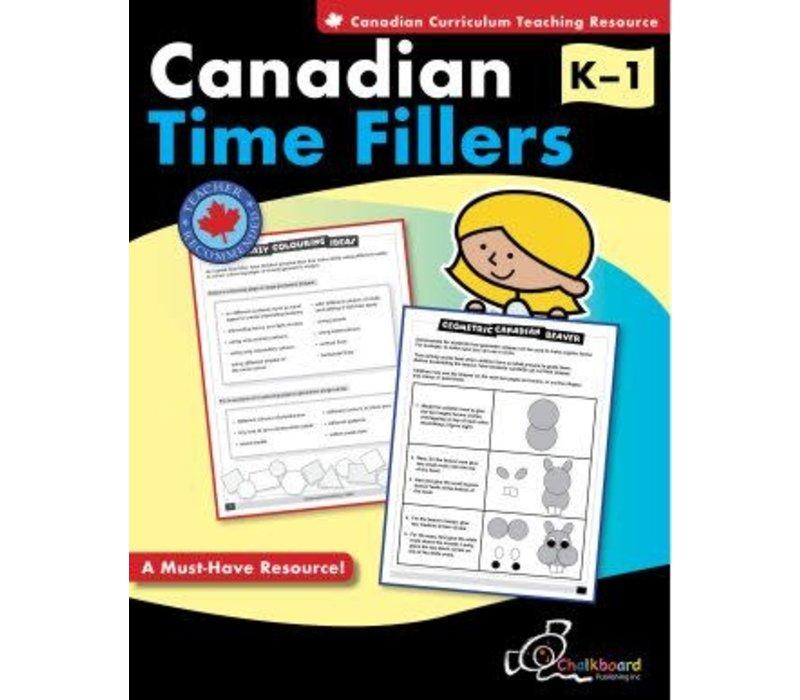 Canadian Time Fillers K-1 *