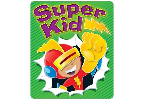Carson Dellosa Super Kid Motivational Stickers *