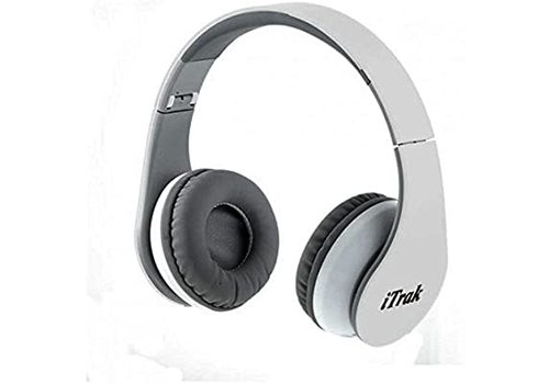 MPOW Technologies Noise Cancelling Headphones, Bluetooth Wireless (White/Silver) *