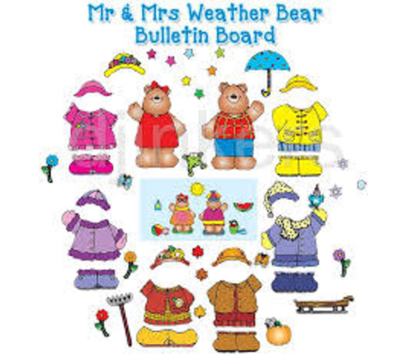 Mr and Mrs Weather Bear *