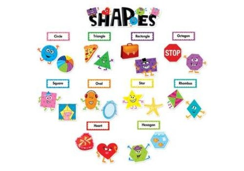 Creative Teaching Press SHAPES MINI-BULLETIN BOARDS * (d)