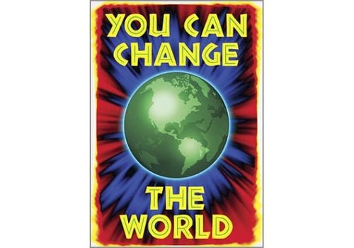 Trend Enterprises You Can Change the World Poster*