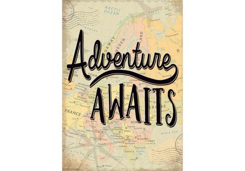 Teacher Created Resources Adventure Awaits Poster *