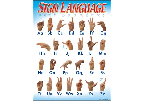 Trend Enterprises Sign Language