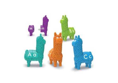 Snap-n-Learn Letter Llamas  *