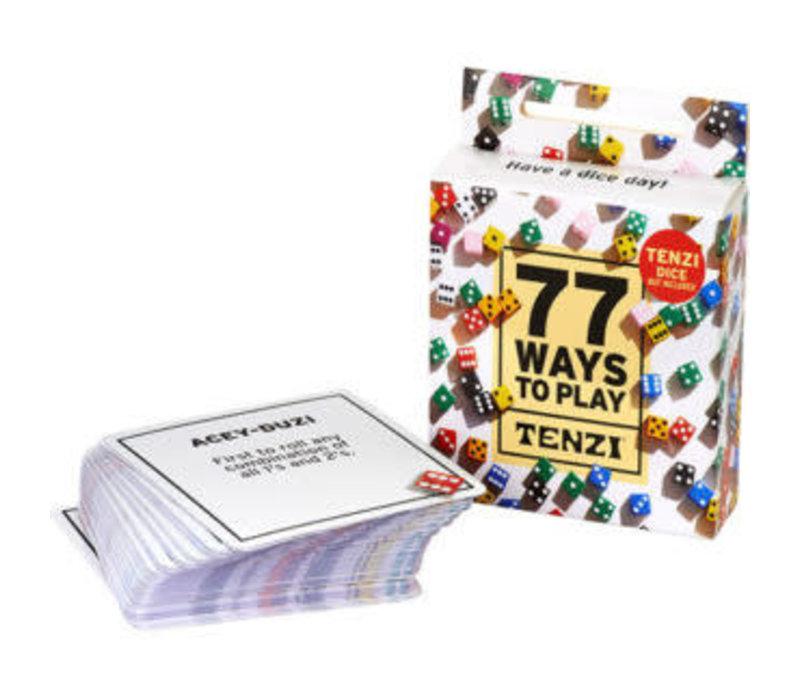77 Ways to Play TENZI*