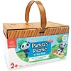 PEACEABLE KINGDOM Panda's Picnic in the Park - The Yummy Shape and Colour Game *